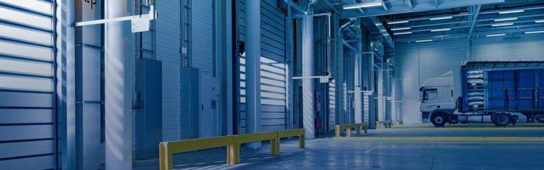 closed warehouse doors