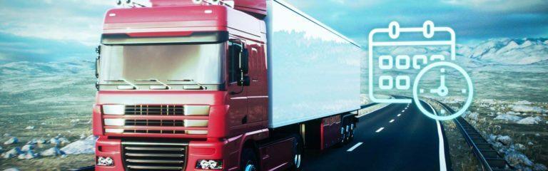 Transportation Management - LKW auf Autobahn